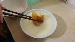 youtiao with soy milk
