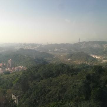 Maokong view to 101