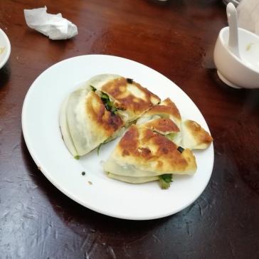 Fried scallion pancake